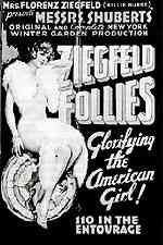 Early poster for the Ziegfeld Follies
