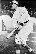Jim Thorpe playing baseball