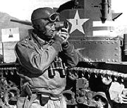 Gen. George S. Patton, Commander, 1st Army Group