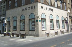 Museum at the corner where the fatal shots were fired