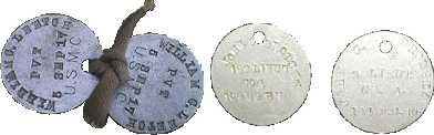 WWI Dog Tags