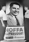 Hoffa for union president poster