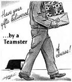 Teamster advertisement