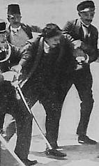 The arrest of Gavrilo Princip