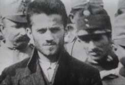 Gavrilo Princip at trial